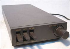 Boothroyd Stuart Meridian 101 Preamp  My first preamp