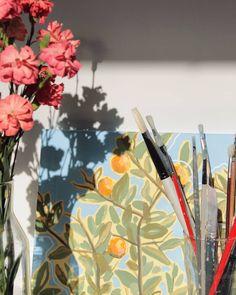 Jenni Tuulia julkaisivat Instagramissa: Hi, sun. I'm so glad you're back. 🌞  I'm busy getting ready for my exhibitions and prepping my… • Katso 326 kuvaa ja videota heidän profiileissaan. My Art Studio, Prepping, Creative, Instagram, Bakken, Prep Life
