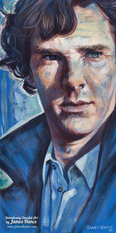 Johnlock, Mrs Hudson, Martin Freeman, Weird World, Sherlock Bbc, Cool Artwork, Amazing Artwork, Benedict Cumberbatch, Fan Art
