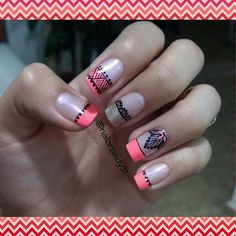 @an822 🎀 Easy Nail Art, Pedicure, You Nailed It, Nail Art Designs, My Nails, Nailart, Eye Makeup, Polish, Beauty