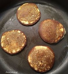 Proste placki bananowe dla dzieci Health Eating, Griddle Pan, Diet Recipes, Food And Drink, Sweets, Breakfast, Fitness, Cakes, Kuchen