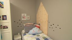 Bolig Slependen - Superoppusserne - TV3 - Barnerom Toddler Bed, Interior, Furniture, Home Decor, Child Bed, Decoration Home, Room Decor, Design Interiors, Home Furniture