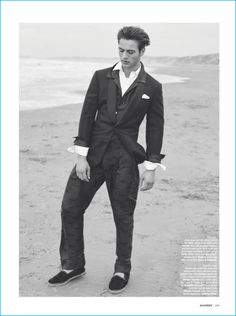 Men's oversized tailoring is the star of a fashion editorial from The Rake. Relaxed proportions bring a casual flair to suiting. Fashion brands such as Giorgio… The Fashionisto, Dinner Jacket, Giorgio Armani, Editorial Fashion, Fashion Brands, Stylists, Suit Jacket, Menswear, Silhouette
