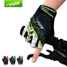 Aliexpress.com : Buy Unisex Breathable Bicycle Gloves Mountain Road 3D Gel Anti slip Cycling Gloves Bike Half Finger Shockproof Racing MTB Mittens from Reliable gloves chemical suppliers on Wild Side - Cycling