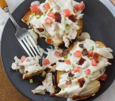 Leftovers #Recipe:  Open-Faced Turkey