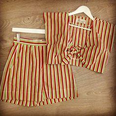 Tara Starlet stripes.