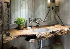 48 Awesome Rustic Decoration Ideas for your Bathroom