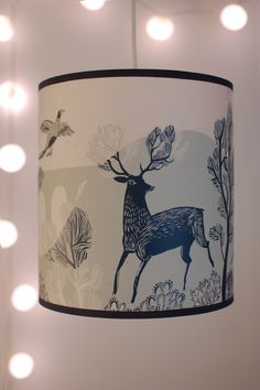 blue stag lampshade by Lush Designs.sold by Radiance Lighting. Lamp Shades, Light Shades, Invitation Card Design, Oh Deer, Blue Rooms, Decoration, Reindeer, Cool Art, Art Pieces