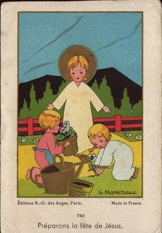 Holy Cards for Children: Easter