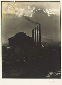Untitled (Train with Oil Cars, Otis Steel Co., Cleveland), 1928 Margaret Bourke-White (American, 1904-1971)