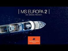 Eine Kreuzfahrt in die Sonne - das ist genau das, wonach wir uns im Februar sehnen. Die MS EUROPA 2 cruist im Februar zB zu den Kanaren. Chill, Cruise, Movie Posters, Europe, Cruises, Luxury, February, Sun, Film Poster