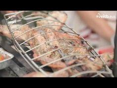 Receta de conejo a la brasa con verduras - YouTube