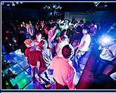 It's important to pick a DJ that you love and that will keep your guests moving all night! Come experience Access DJ's live & in person at the Daytona PWG Wedding Show on January 12th! Get your tickets here http://orlando.perfectweddingguide.com/events/bridal-shows/11396/ #weddingdj #dancefloor #wedding #daytona #beachwedding #weddinglighting