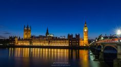 Revisiting places surely brings new chances to see deeper and closer...A sunny day ended with a beautiful evening at #BigBen #London   #Architecture #Building #Historical #Photography #Evening #Night #City #Parliament #Thames #BlueHour #Democracy #Rule #