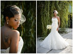 greenville sc wedding photographers photographer weddings at zen, strapless wedding gown with lace overlay, blue wedding shoes and birdcage veil, wedding day jewelry, wedding hairstyle for short hair, white wedding bouquets