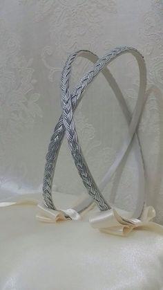 New to Heraeventstore on Etsy: Handmade Orthodox Wedding Crowns / Tiaras - Greek STEFANA - SILVER WREATH (35.00 USD)
