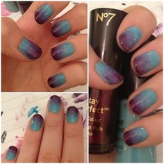 I must learn how to paint gradients on my nails... this looks amazing!