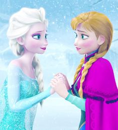 """You sacrificed your life for me?"" Questioned Elsa thinking Anna didn't really like her. ""I love you."" Replied Anna"