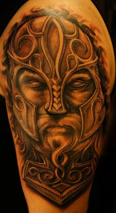 #7 Thor - Top 15 Superhero Tattoos: http://www.tattoos.net/articles/tattoos/top-superhero-and-comic-book-tattoos/