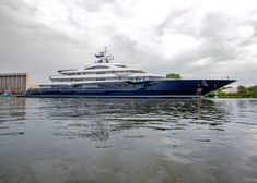 Lurssen has launched the superyacht Tis Big Yachts, Super Yachts, Luxury Yachts, Speed Boats, Power Boats, Lurssen Yachts, Motor Cruiser, Whitewater Kayaking, Canoeing