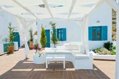 Greek Outdoors, House Design, Island Style, Outdoors Greek, Outdoor Dream, Styles, Greek Islands, Greek Style