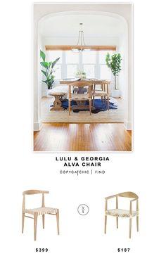 @luluandgeorgia Alva Chair $399 Vs @allmodern Safavieh Bentley Arm Chair  $187. Copy Cat ChicDining Room ...