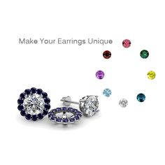 Earring Jackets are a great way to dress up any pair of stud earrings.Take your favorite gemstone & Customize any solitary stud diamond, gemstone or pearl Jacket Earrings, Stud Earrings, Womens Wedding Bands, Bridal Sets, Wedding Rings, Diamond, Unique, Jewelry, Style