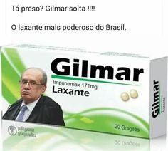 Gilmar Mendes, o laxante mais poderoso do Brasil, te solta