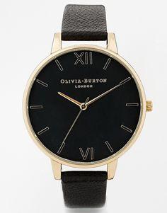 Image 1 of Olivia Burton Black Face Big Dial Watch