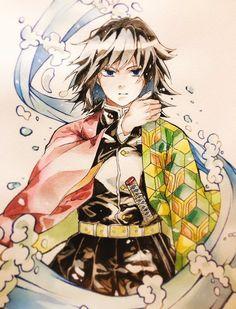 Anime Eyes, Anime Demon, Manga Anime, Anime Art, Demon Slayer, Slayer Anime, Arte Copic, Chibi Characters, Cute Kawaii Drawings