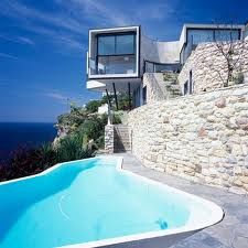 Cliff top houses of fabulousness
