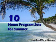 10 Home Program Sets for Summer