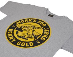 benny gold graphic t-shirt