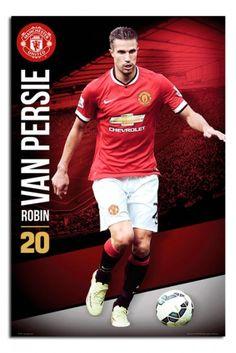 Manchester United Robin Van Persie Poster