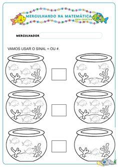 Tel de vissen, free printable