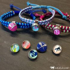 Our S Lacrosse Sportsnaps Jewelry Collection Makes It As Easy A Snap To Swap Out Diffe Charms And Create New Pieces Of