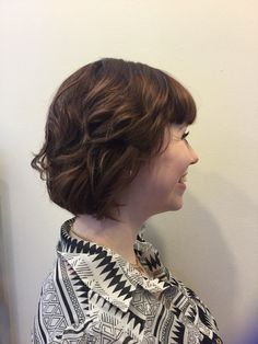 Textured blow dry model 1