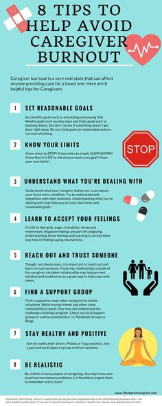 Avoid caregiver burnout with these tips!  As a caregiver myself I was happy to com across this pin.