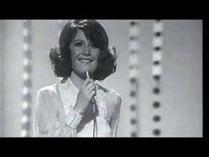 """Sandie Shaw performing her 1967 Eurovision Contest-winning song """"Puppet On A String"""", which hit no. 1 all over Europe (including the UK, Germany, The Netherlands, Ireland, Austria and Norway) and remains her signature tune. Here it is performed on """"The Cilla Black Show"""" in 1968."""