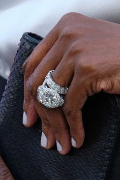NeeNee Leek's wedding ring
