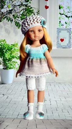 28-35 cm Kleidung & Accessoires Puppen & Zubehör Puppen-Jacke mit Jeans