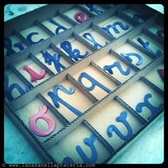 DIY Montessori Movable Alphabet (Free Printables)  ITA