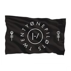 Clique Circle Flag | Official Twenty One Pilots Store | @giftryapp
