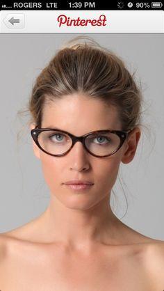 608dc99424c Tom Ford Cat Eye Glasses in Animal - Lyst