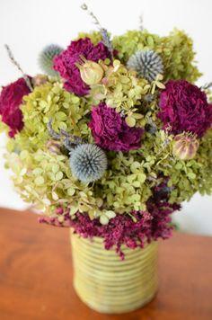 Peony and Hydrangeas Arrangement,  summer floral arrangement, hydrangea arrangement, spring arrangement
