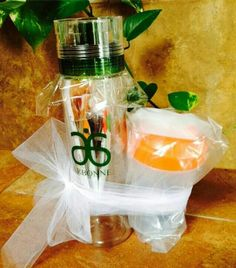 This gift could be yours along with a ton of other free stuff. Inquire within :) Don't forget to visit my web store at www.debbiewog.arbonne.com