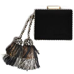 Tiger tail clutch (13.629.520 IDR) ❤ liked on Polyvore featuring bags, handbags, clutches, tonya hawkes, handbags purses, man bag and hand bags