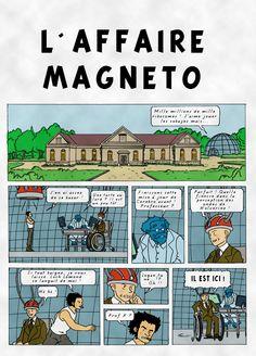 l'affaire Magneto (Tintin)