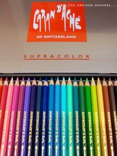Caran d'Ache Supracolor the best watercolor pencil I've used http://kathleen-obrien.com/year-of-the-pencil/