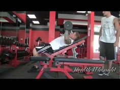 form and technique for a decline bench press get strong with